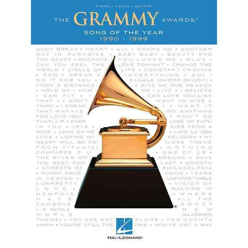 The Grammy Awards Song of the Year 1990-1999