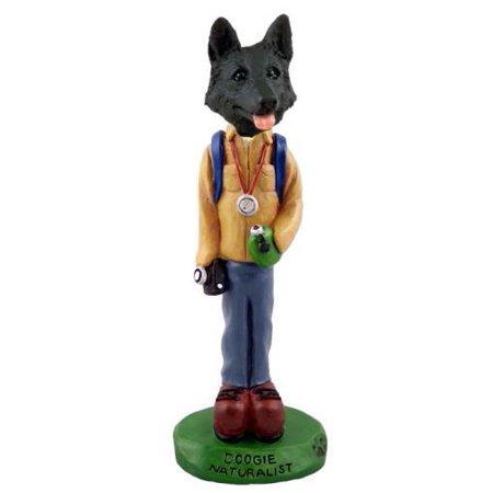 German Shepherd Black Naturalist Doogie Collectable Figurine