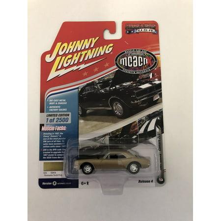 Johnny Lightning JLMC016 Muscle Car 1967 Chevy Camaro Z28 VER B ()