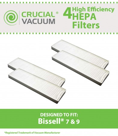 Fits Bissell Part 32076. Bissell Style 7 /& 9 HEPA Filter Cartridge Assembly