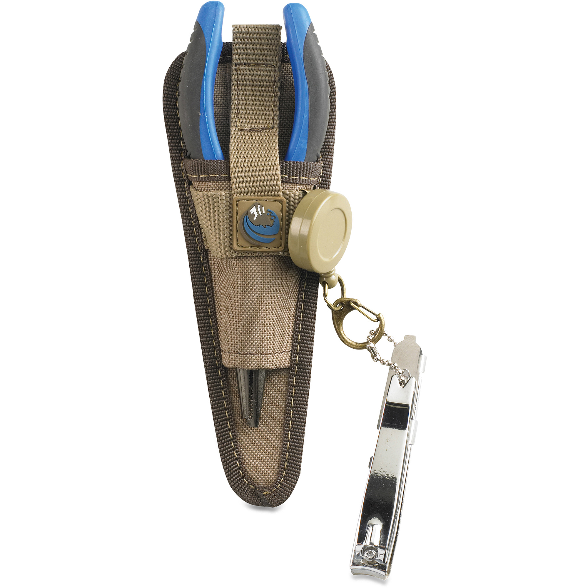 Wild River Plier Holder with Retractable Lanyard, Khaki