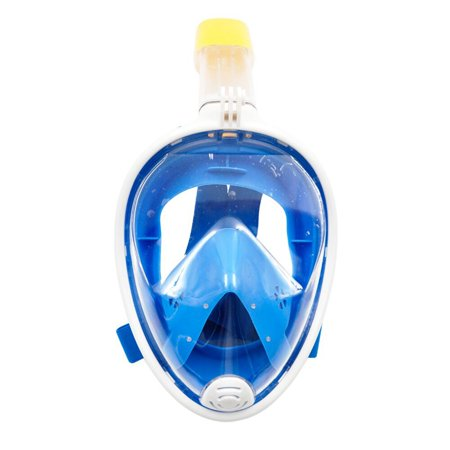 Anti-Fog Swimming Surface Diving Full Face Snorkel Scuba Mask for GoPro Size - Scuba Masks