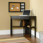 Sauder Beginnings Corner Computer Desk, Cinnamon Cherry