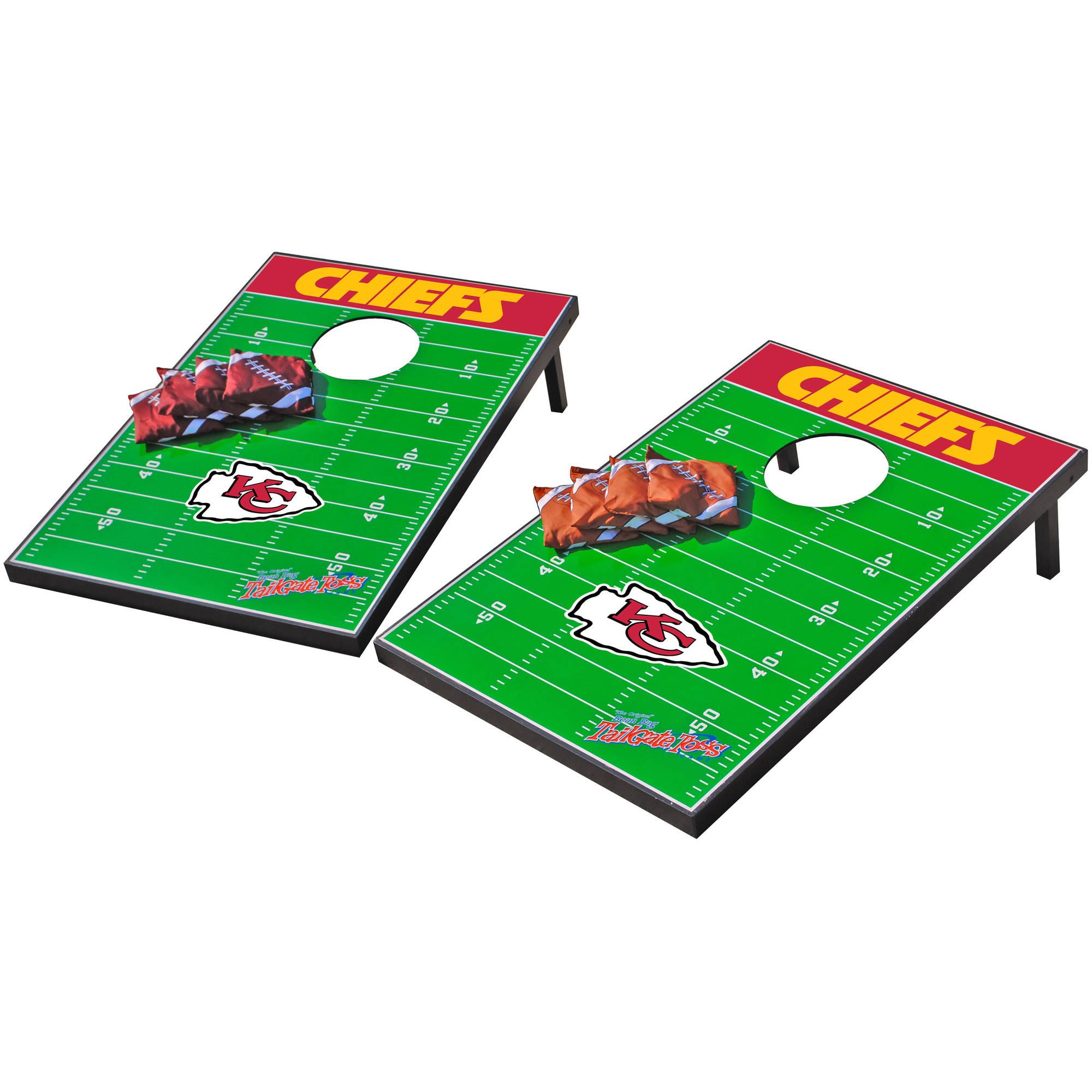Wild Sports NFL Kansas City Chiefs 2x3 Field Tailgate Toss