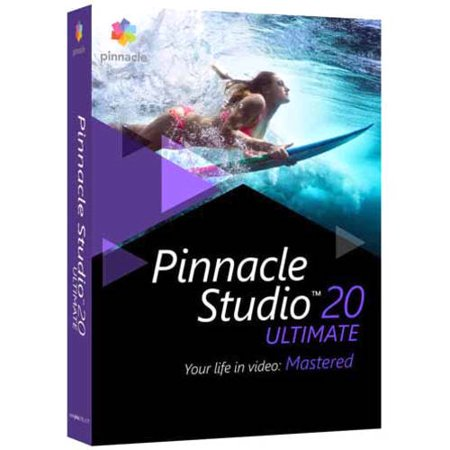 Pinnacle Studio 20 Ultimate Video Editing and Live Screen Capture