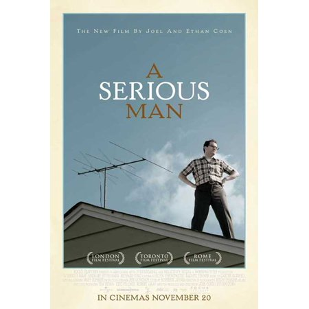 A Serious Man Poster Movie Uk A  27X40