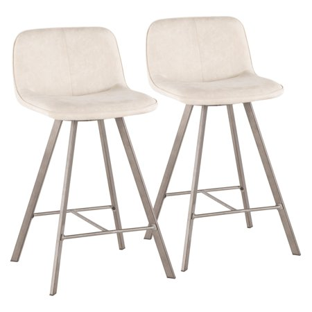 Stupendous Lumisource Sedona 25 5 In Counter Stool Set Of 2 Machost Co Dining Chair Design Ideas Machostcouk