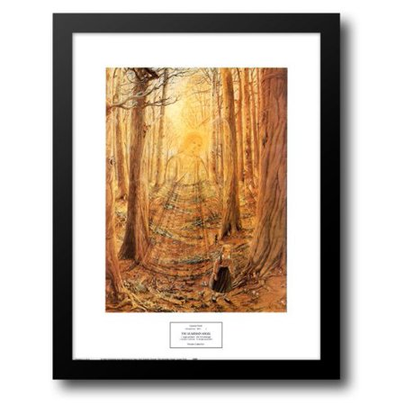 FrameToWall - The Guardian Angel 17x21 Framed Art Print by Ford, Lauren