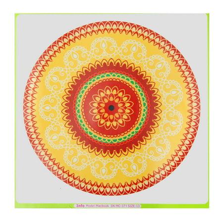 Lovely Flower Laptop Decal Sticker Vinyl Skin for Macbook 11'' 12'' 13'' 15'' 17''  - image 1 de 5