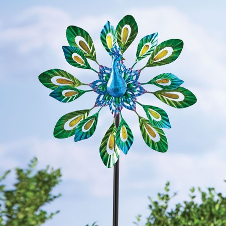 Mainstays Outdoor Peacock Wind spinner