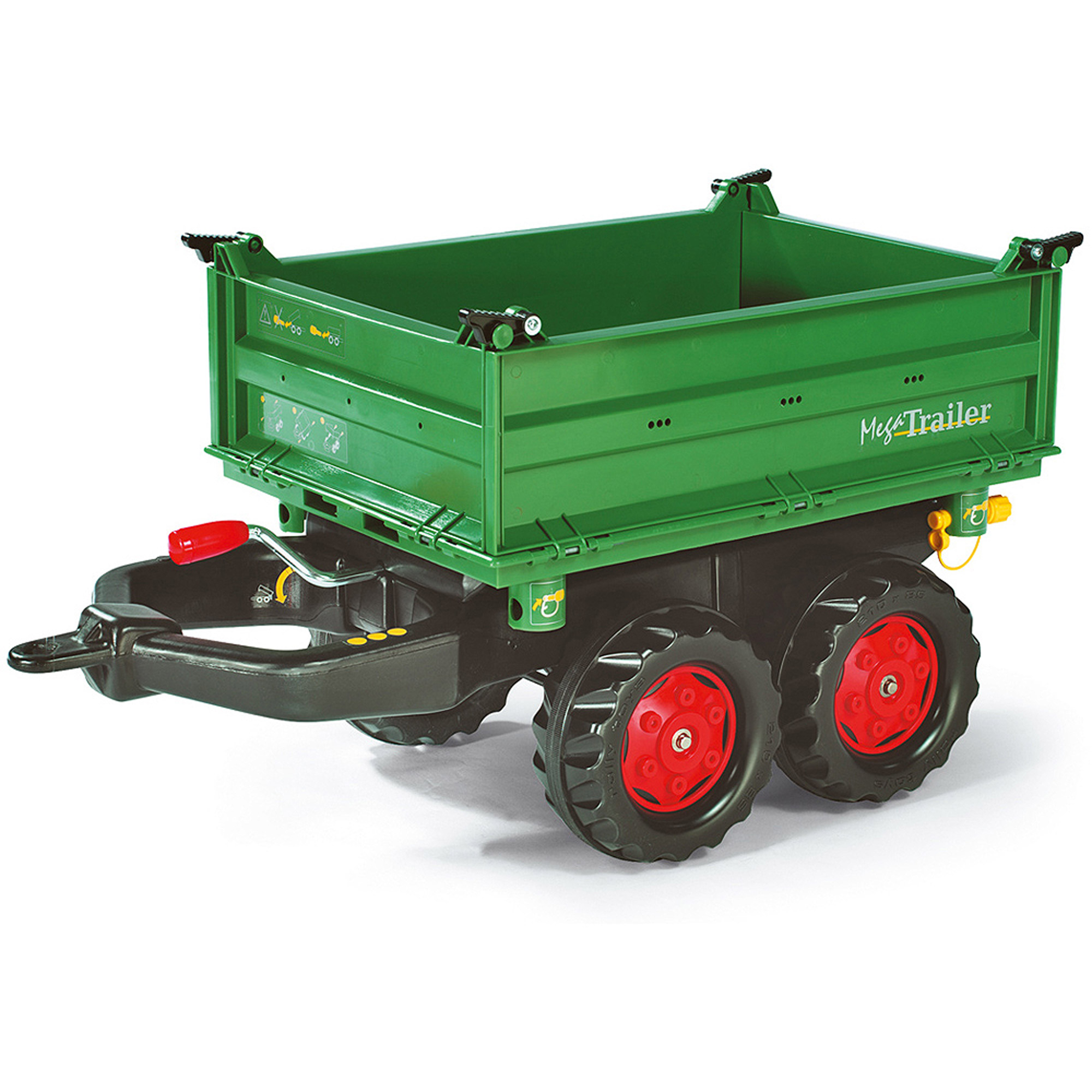 Rolly Mega Trailer, Green