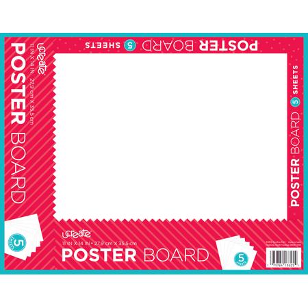 Walmart poster board print