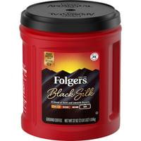 Folgers Black Silk Ground Coffee, 37-Ounce