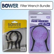 Bower Filter Wrench Kit for Thread Sizes 48-58mm & 62-77mm