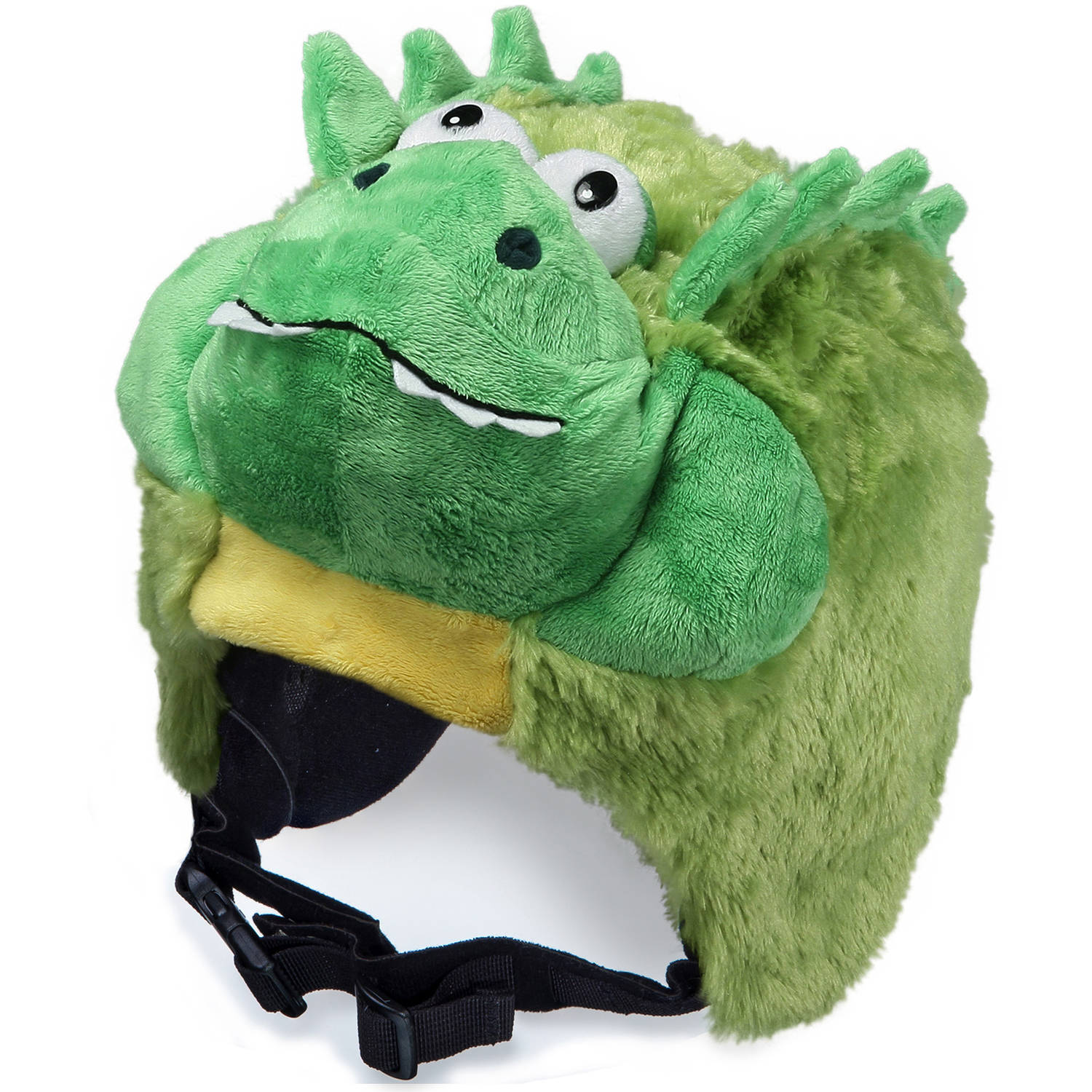 crazeeHeads Pickles the Alligator Plush Helmet Cover by crazeeHeads