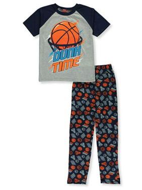 Tuff Guys Boys' Basketball 2-Piece Pajamas (Little Boys)