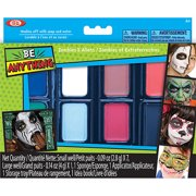 POOF-Slinky Ideal Be Anything! Zombies and Aliens Face Painting Kit, 8-Color Set