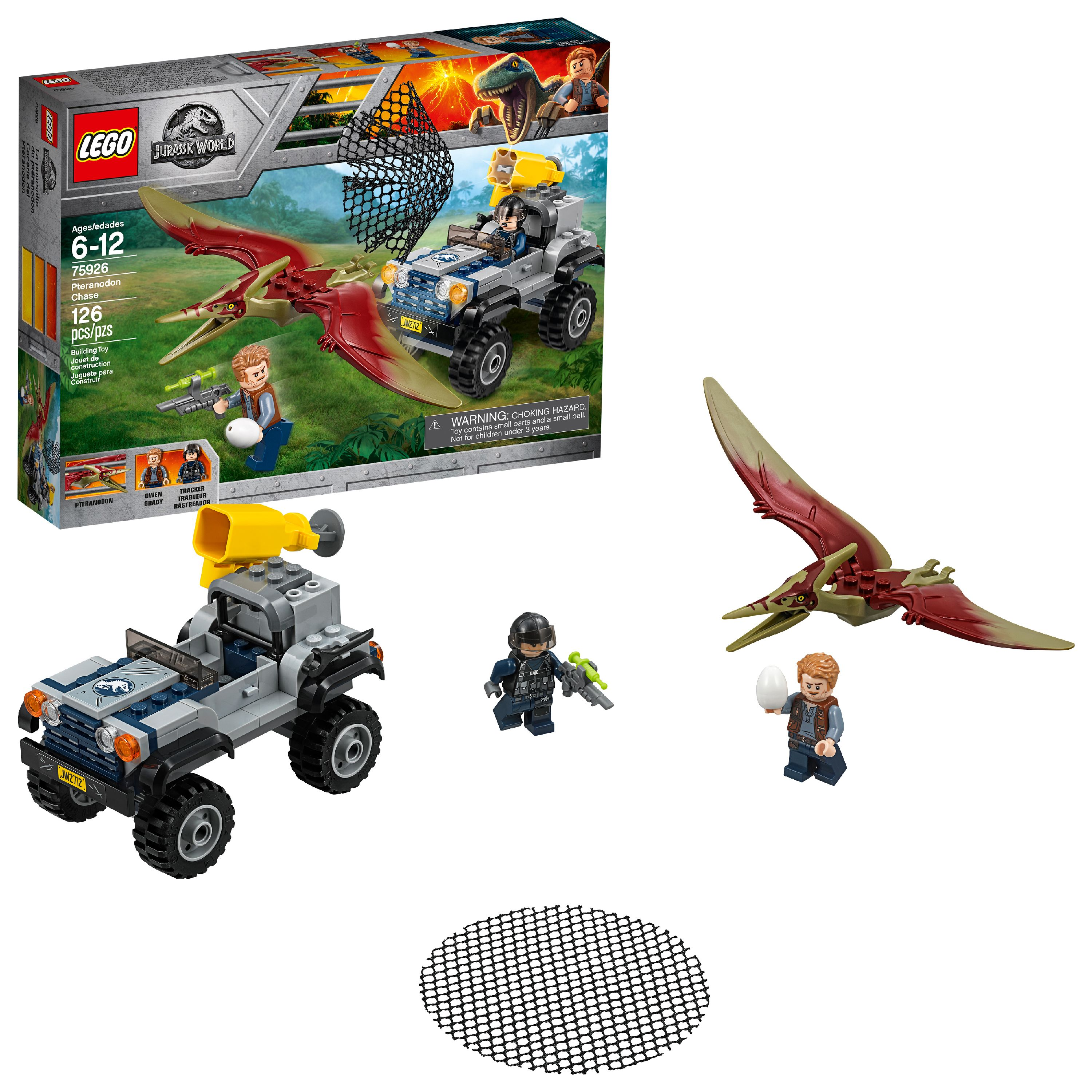 LEGO Jurassic World Pteranodon Chase 75926 (126 Pieces)