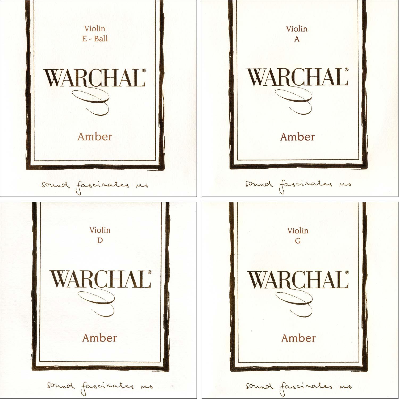 Best Violin Strings - Warchal Amber 4/4 Violin String Set - Medium Review