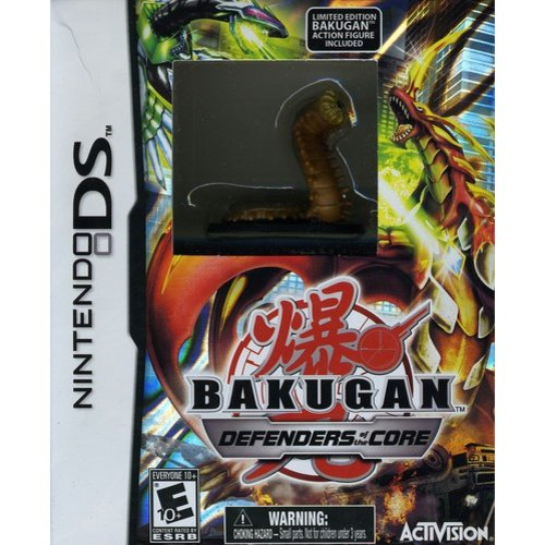 Bakugan Battle Brawlers: Defenders of the Core with Limited Edition Bakugan Action Figure - Nintendo DS 76498