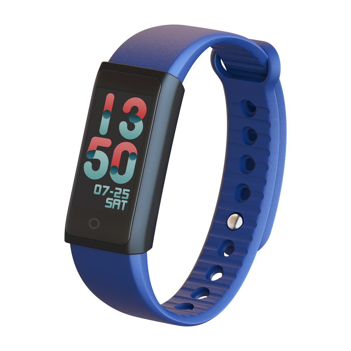 Indigi X6s Smart Fitness Tracker w/ Dynamic Heart Rate Monitor + Calorie Counter + OLED Screen + SMS/Call Alerts (iOS &