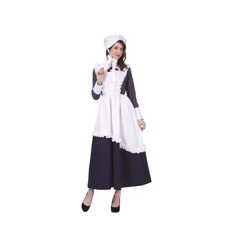 Womens Colonial Lady Pinstriped Costume](Pinstripe Suit Costume)