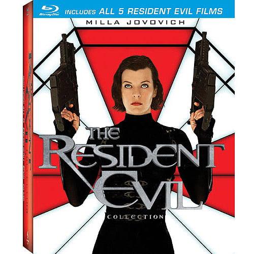 Resident Evil / Resident Evil: Afterlife / Resident Evil: Apocalypse / Resident Evil: Extinction / Resident Evil: Retribution (Blu-ray) (Widescreen) COLBR41117