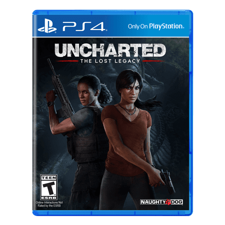 Naughty Dog Inc. Uncharted: Lost Legacy, Sony, PlayStation 4, 711719510475