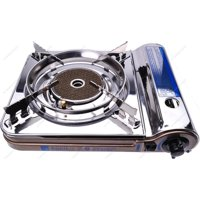 Soniko NS3500CS Stainless Steel Portable Gas Stove with InfraRed Technology Ceramic Burner, Bronze