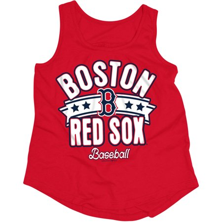 MLB Boston Red Sox Girls Short Sleeve Team Color Graphic Tee](Red Sox Store)