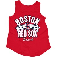 c097a0ae2 Product Image MLB Boston Red Sox Girls Short Sleeve Team Color Graphic Tee