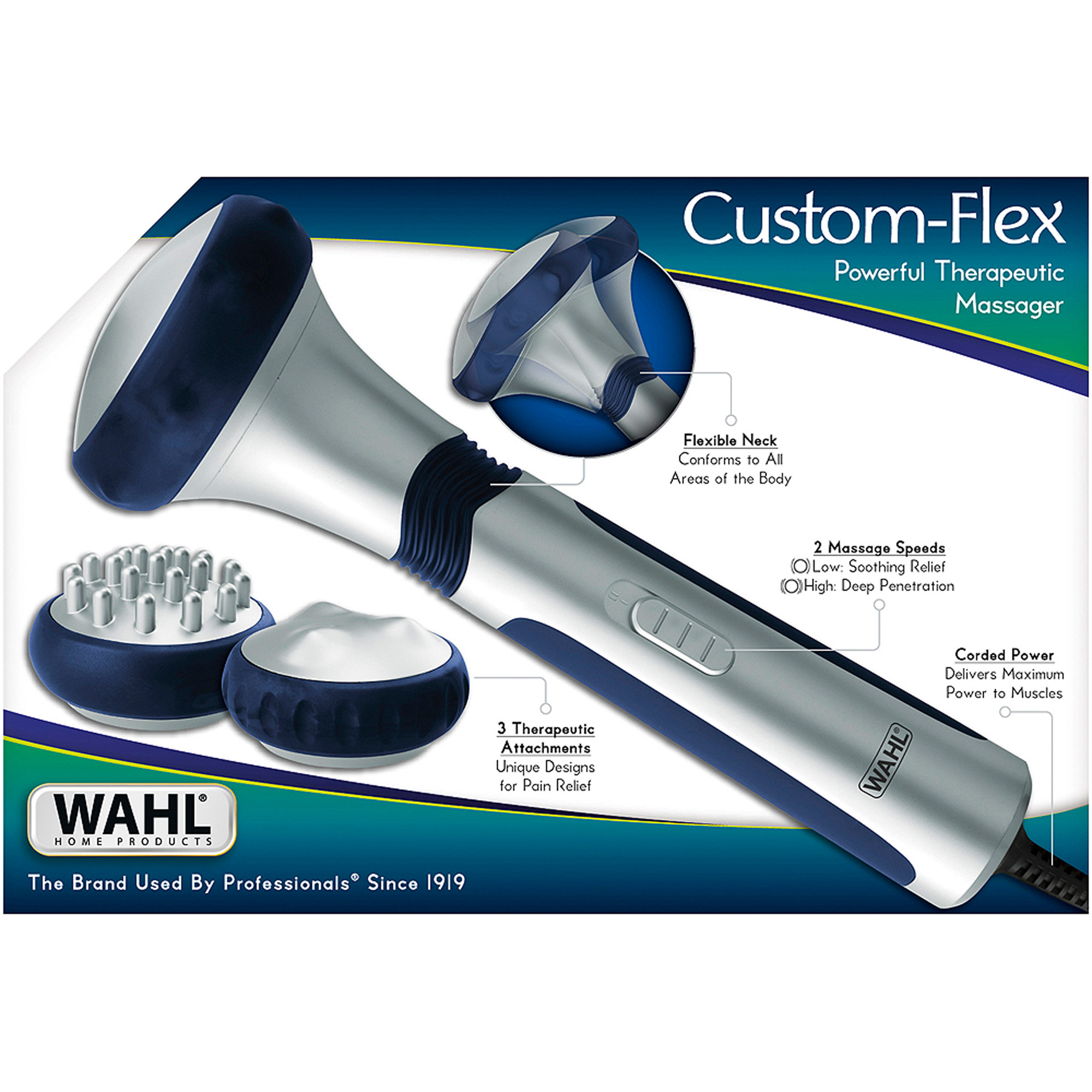 Wahl Custom-Flex Powerful Therapeutic Massager