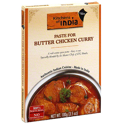 kitchens of india curry paste for butter chicken 3 5 oz pack of 6 rh walmart com kitchens of india butter chicken curry kitchens of india butter chicken recipe