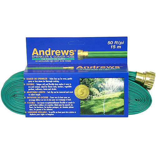 Andrews 10-12348 50' 2 Tube Sprinkler & Soaker Hose