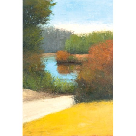 """Portfolio Canvas Decor """"Water Walk"""" by David Skinner Wrapped and Stretched Canvas"""