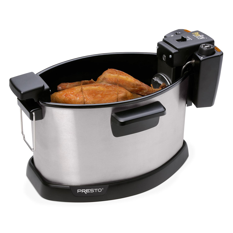 Presto ProFry™ Electric Rotisserie Turkey Fryer - Walmart