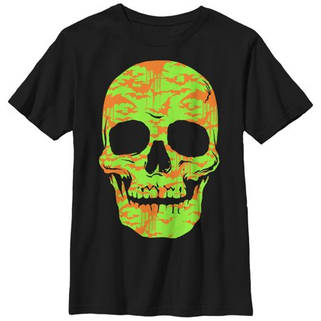 Boys' Halloween Skull Bats in Flight Face - Halloween Stores In Columbia Mo