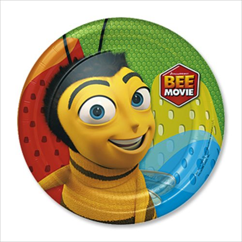 Bee Movie Small Paper Plates (8ct) & Bee Movie Small Paper Plates (8ct) - Walmart.com