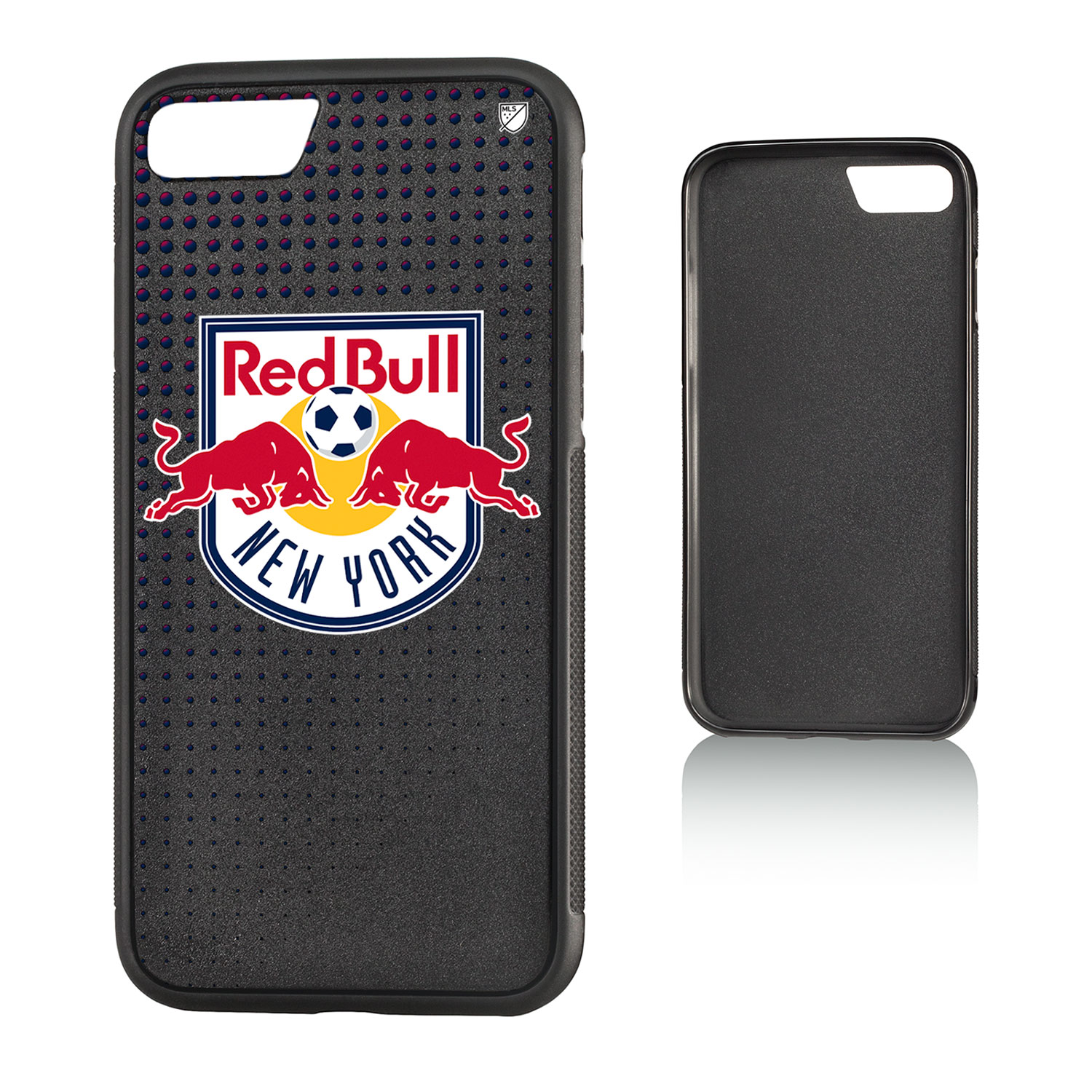New York Red Bulls RED BULLS Dots Bump Case for iPhone 8 / 7