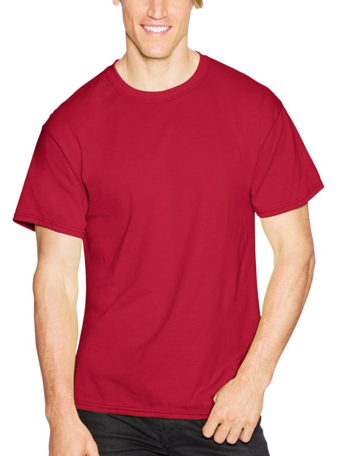 Hanes Short Sleeve 50//50 T-Shirt Big Sizes