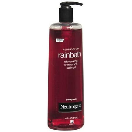 - Neutrogena Rainbath Refreshing Shower & Bath Gel, Pomegranate 16 fl oz (Pack of 1)