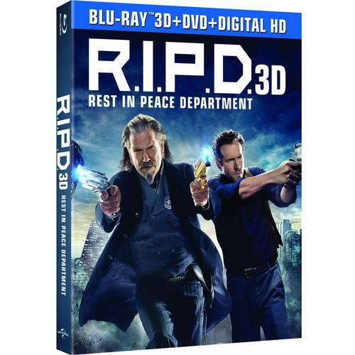 R.I.P.D. (3D Blu-ray + DVD + Digital HD) (With INSTAWATCH) (With INSTAWATCH) (Widescreen)