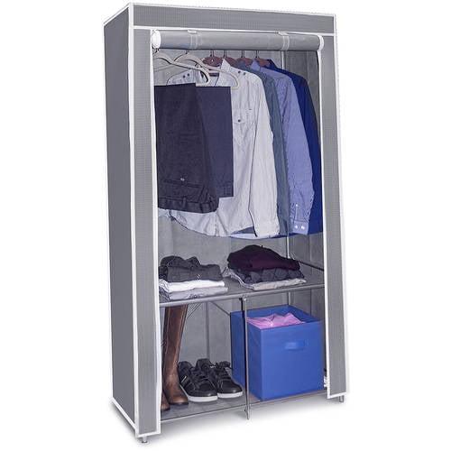 Sorbus Wardrobe Closet Portable Non Woven Fabric Free Standing