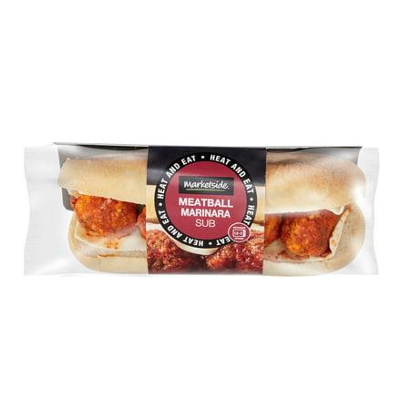 Marketside Meatball Marinara Sub, 8 oz
