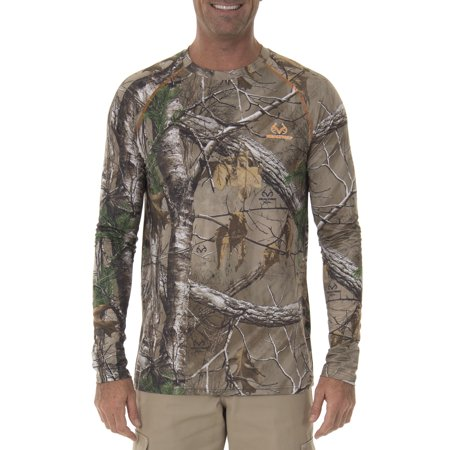 Realtree Insect Repellent Performance Long Sleeve Tee - Real Tree Stumps For Sale