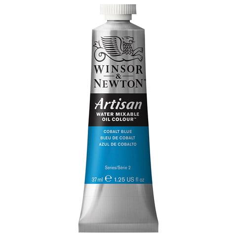 Winsor & Newton Artisan Water Mixable Oil Color: Cobalt Blue, 1.25 fl oz