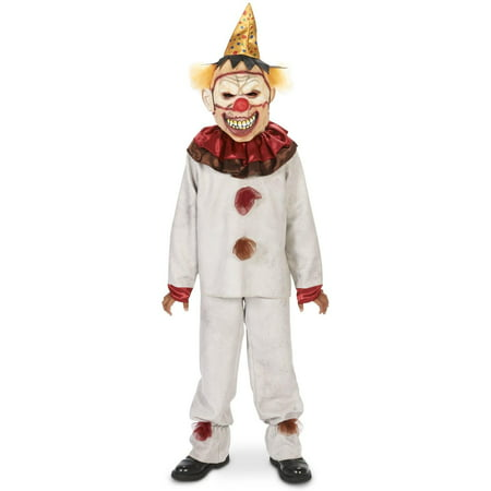 Scary the Carnival Clown Child - Scary Clown Jumpsuit