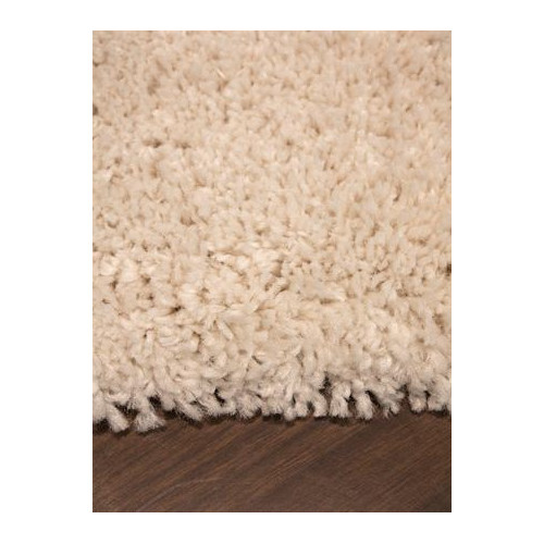 Kalora Maroq Solid Cream Soft Touch Area Rug