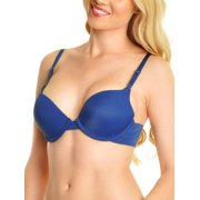 Angelina Wired Push-Up Laser Cut Bras (6-Pack)