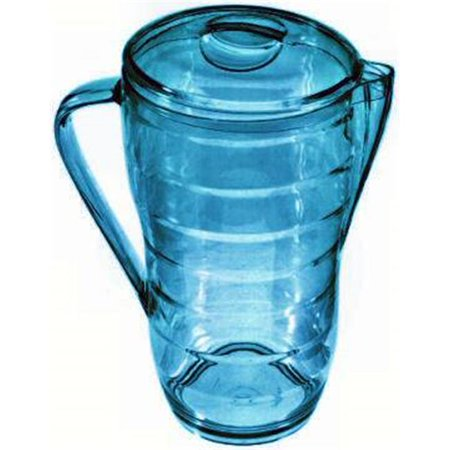 Creative Bath Products CH553SKYBLBLU 2.5 Quart Pitcher Skyblue, Pack of 6 Sky Blue Pitcher